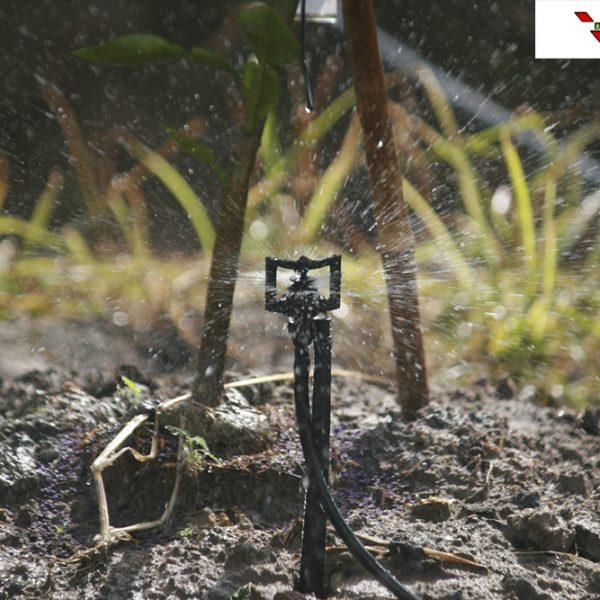 Béc tưới phun mưa BS5000 cho hạt phun đều và mịn từ trong ra ngoài