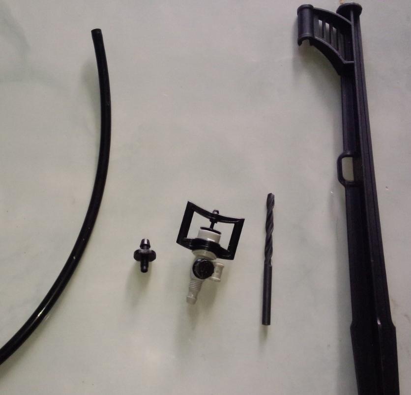 Lắp đặt béc BS5000 vào ống uPVC