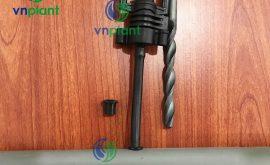 Kết nối ống pvc bằng ron cao su 8mm