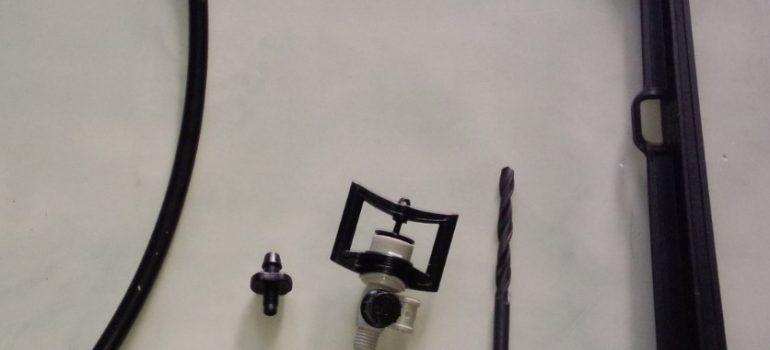 Gắn béc BS5000 vô hệ thống ống uPVC
